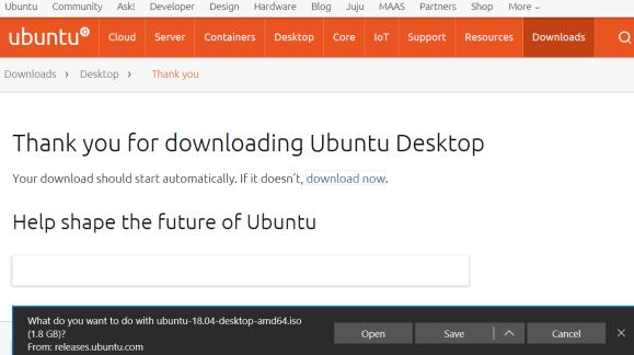 Ubuntu Desktop download