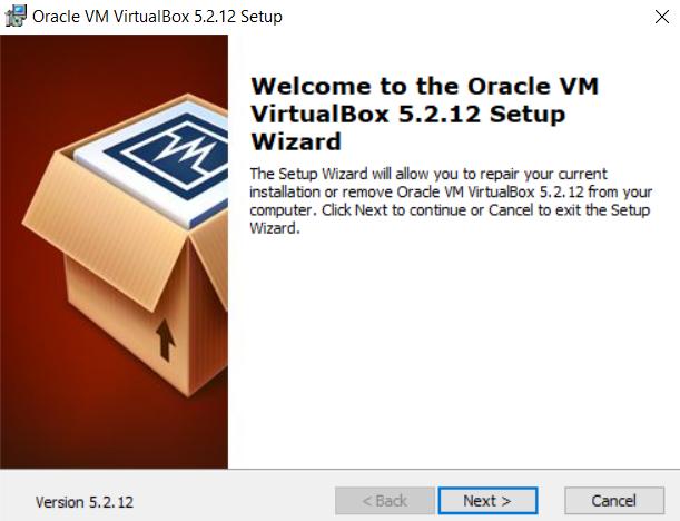 Oracle VM installation